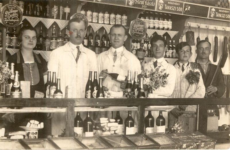 MÁV Konzum szövetkezet, 1928 - Magyar Kereskedelmi és Vendéglátóipari Múzeum, CC BY-NC-ND