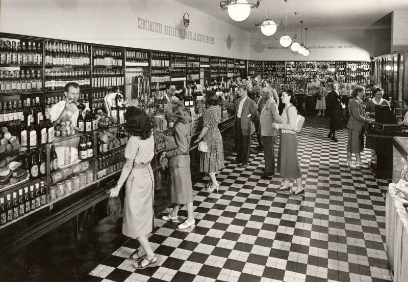 1953. sz. Közért üzlet - MKVM, CC BY-NC-ND