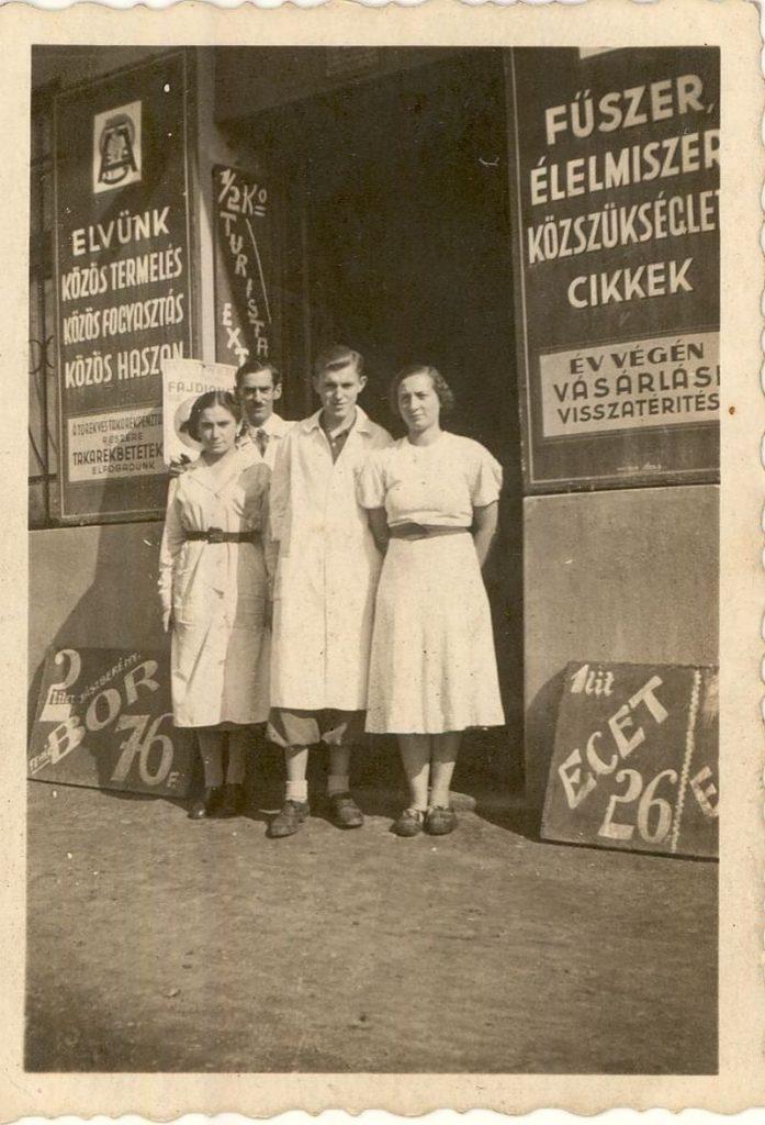 Fűszer és Csemege üzlet Budapest 1930. - MKVM, CC BY-NC-ND