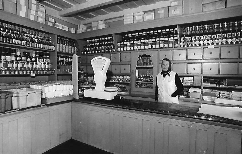 44. sz. ÁFÉSZ élelmiszerüzlet Nyíregyháza 1945 után - MKVM, CC BY-NC-ND