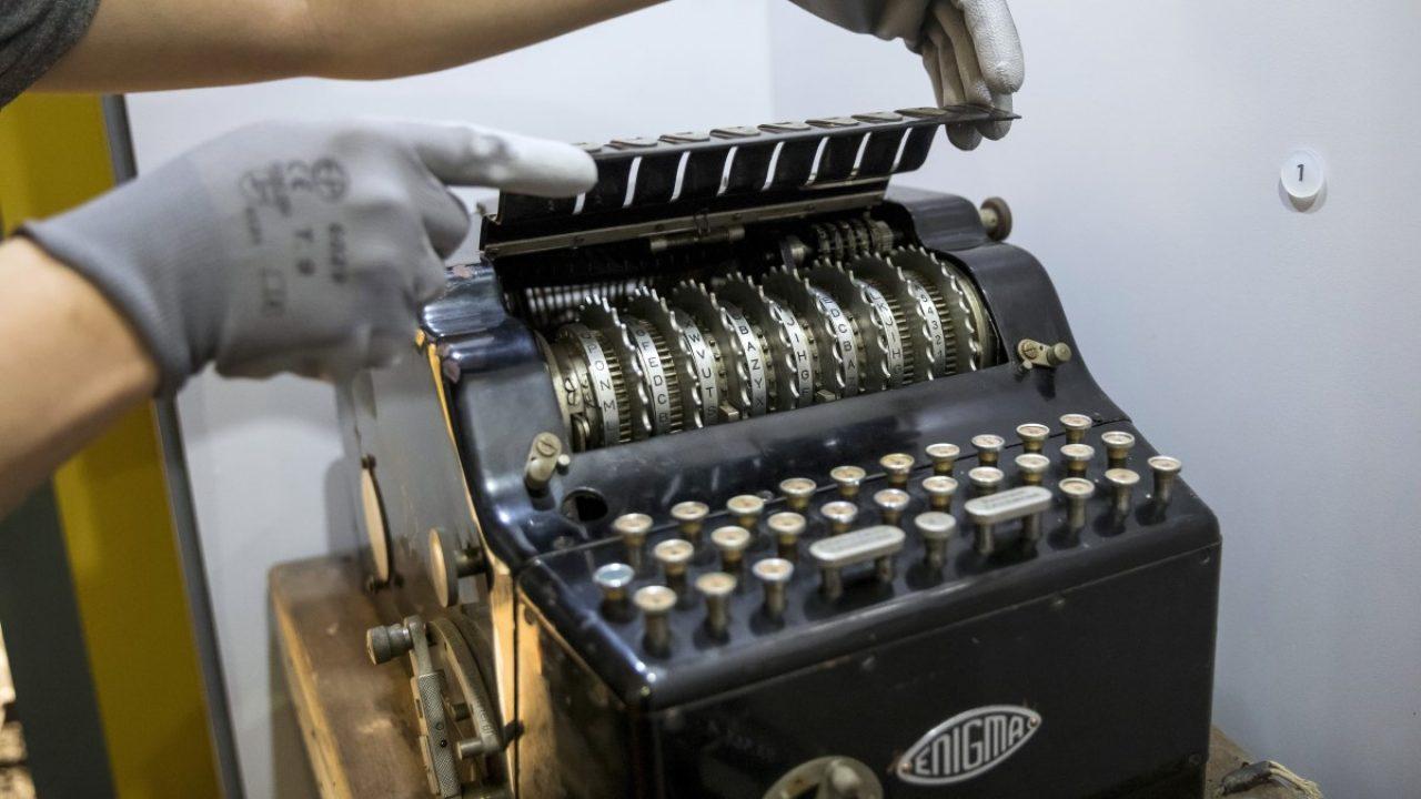 Azt hitték írógép, pedig egy Enigma volt