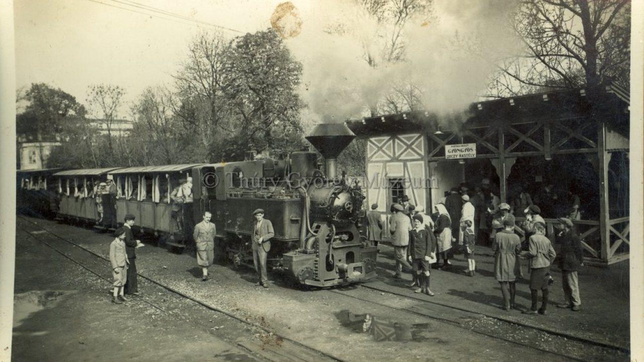 Indul a vonat, átszállás Nagykanizsán Fiume felé!