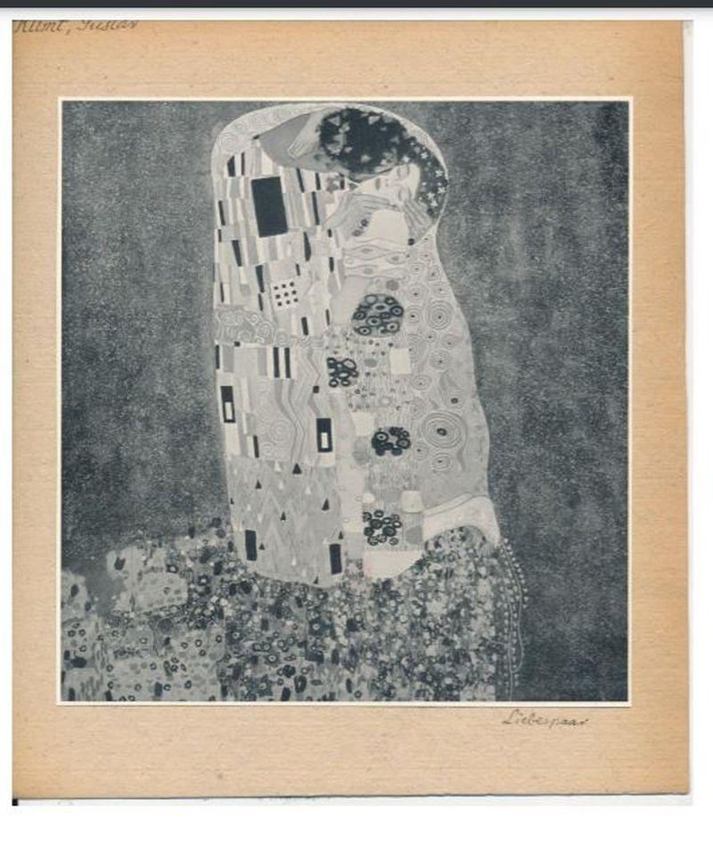 Gustav Klimt műveinek reprodukciói, újságcikk - Szépművészeti Múzeum - Magyar Nemzeti Galéria, CC BY-NC-ND