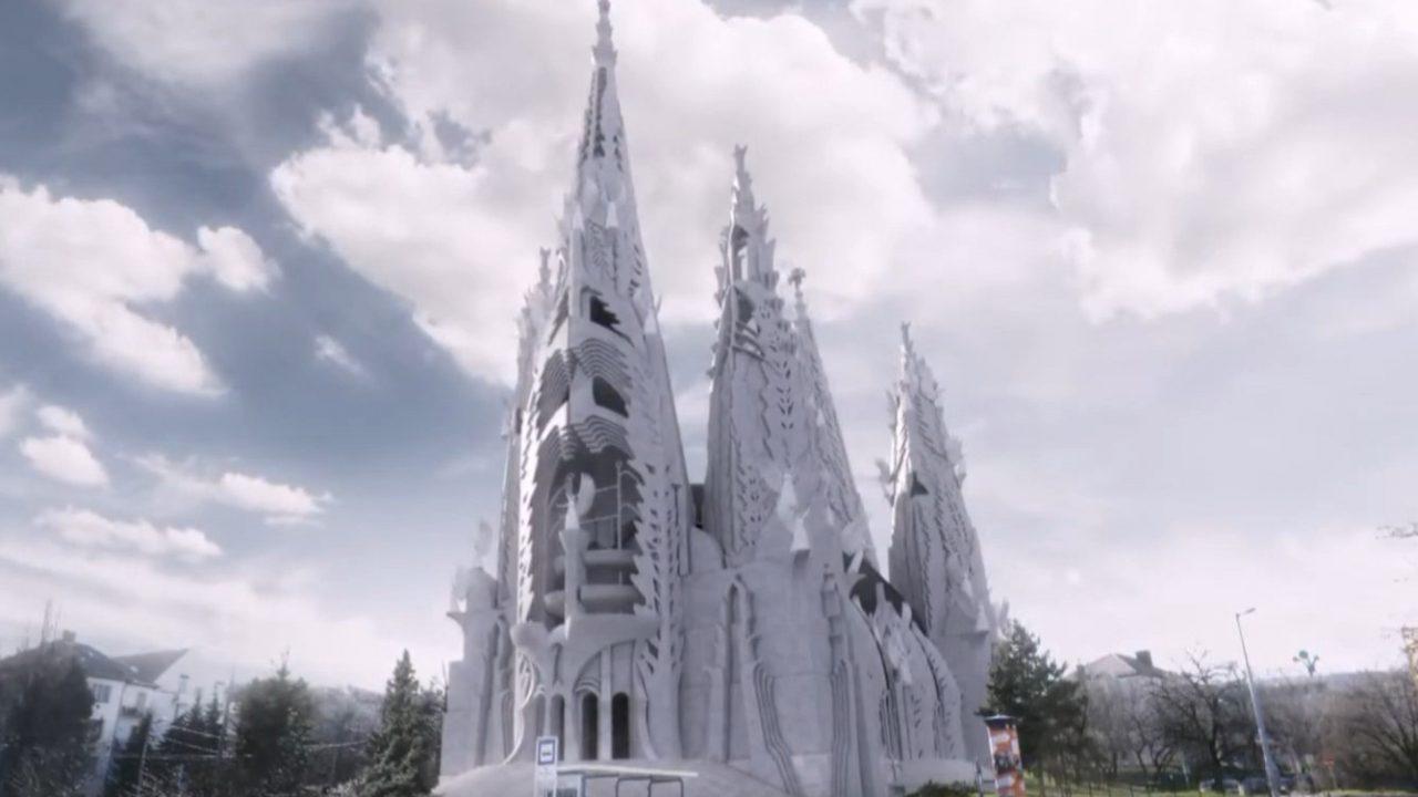 Tíz év alatt elkészülne a Makovecz tervezte 70 méter magas templom