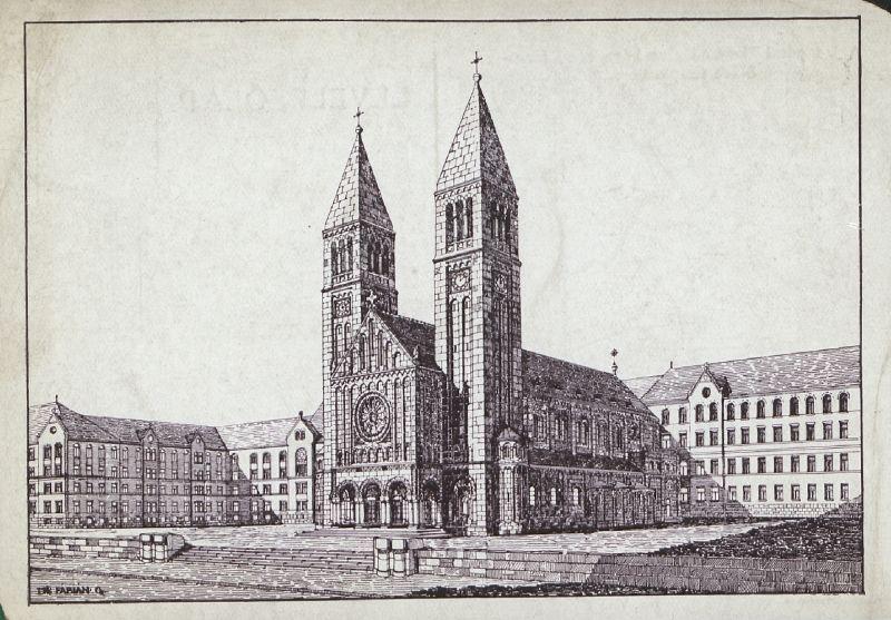 Pius Kollégium a Jézus Szívem templommal - Tóth Tibor Endre, PDM