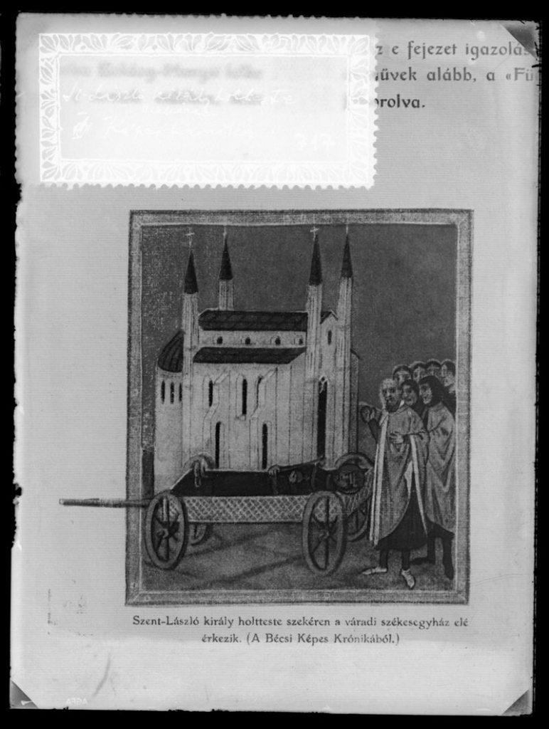 Szent László temetése a Képes Krónikában - Szent István Király Múzeum, CC BY-NC-ND