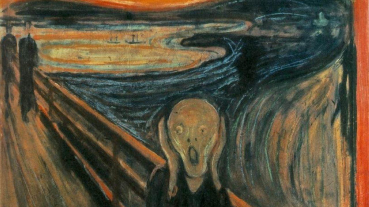 Maga a festő írta rá Sikolyra, hogy csak egy őrült festhette