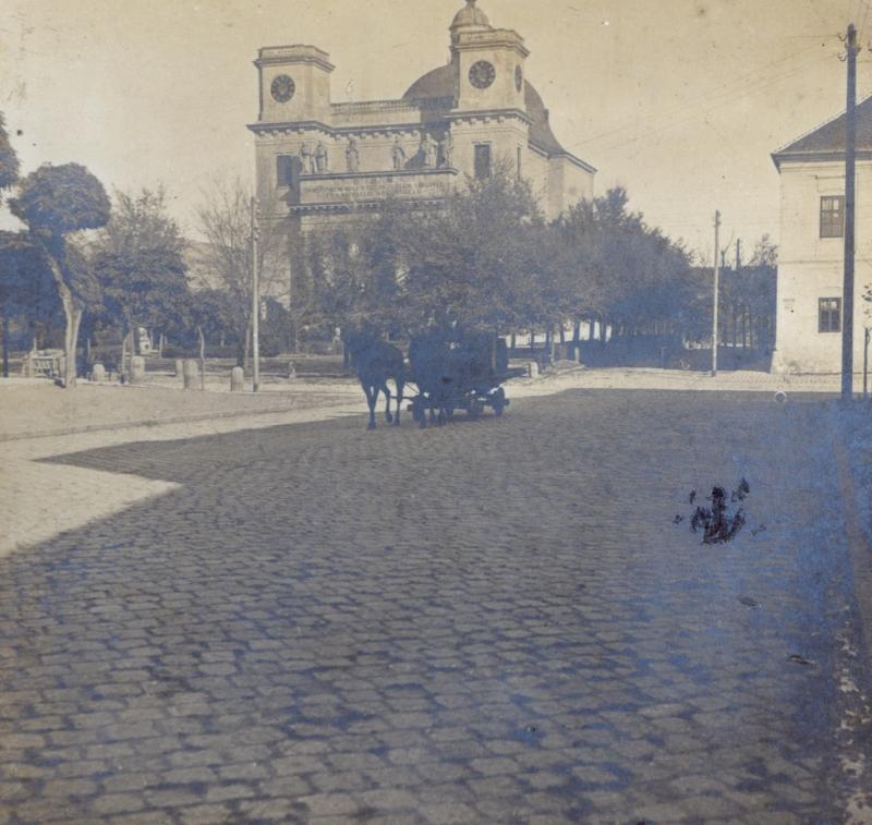 A váci székesegyház - Magyar Ferences Könyvtár, CC BY