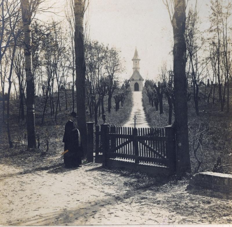 Vác - Alsóvárosi temető, Virter kápolna - Magyar Ferences Könyvtár, CC BY