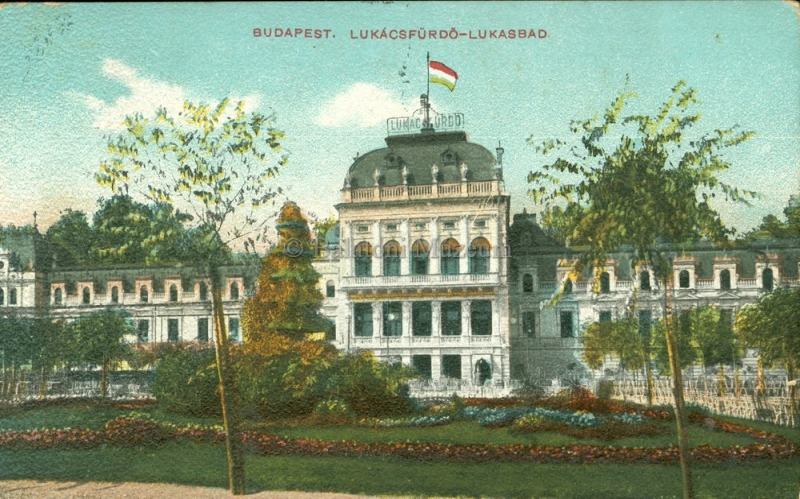 Budapest, Lukács fürdő - Terleczky József, CC BY-NC-ND
