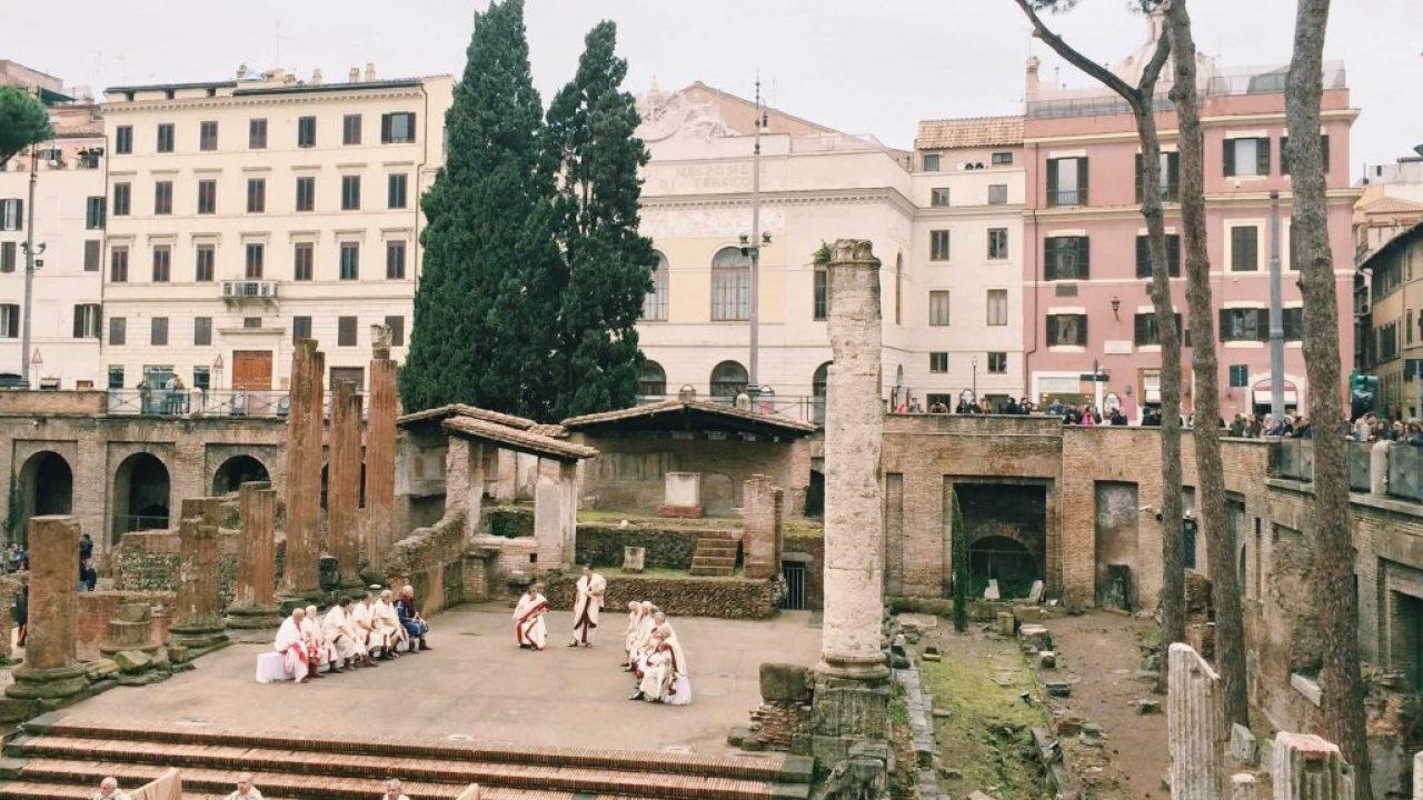 Látogatható lesz Caesar meggyilkolásának helyszíne