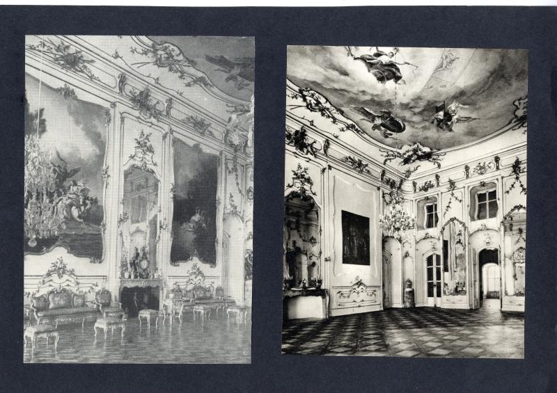 Révhelyi Elemér képei – Fertődi Esterházy-kastély díszterem - Kuny Domokos Múzeum, CC BY