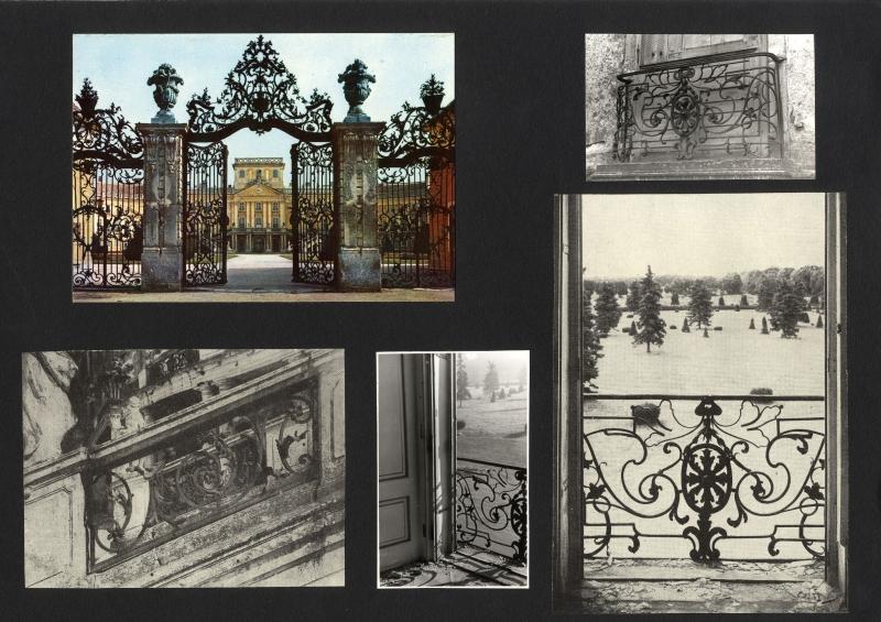 Révhelyi Elemér képei – Eszterháza kovácsoltvas díszkapu - Kuny Domokos Múzeum, CC BY