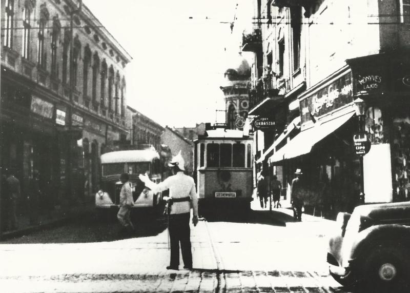 Miskolc Széchenyi utca, utcakép, fénykép - MKVM, CC BY-NC-ND