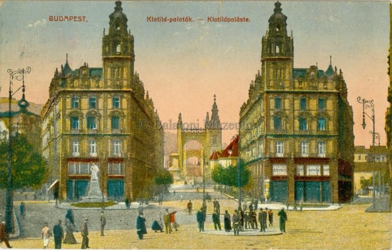Budapest, Klotild palota - Terleczky József, CC BY-NC-ND