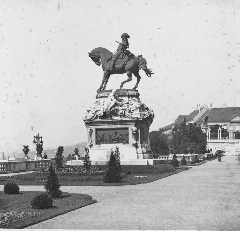 Savoyai Eugén szobra a budai Várban - Kuny Domokos Múzeum, CC BY