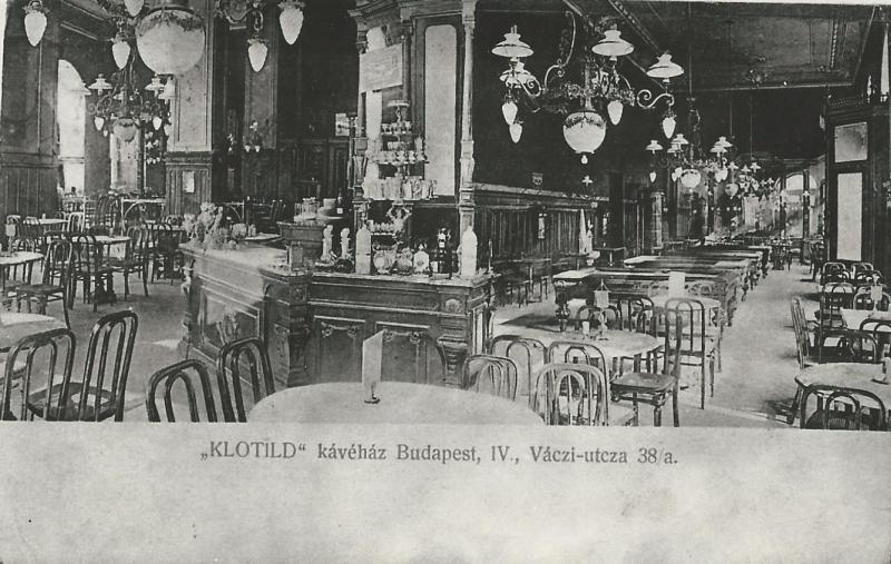 Klotild Kávéház, Budapest, 1906 - MKVM, CC BY-NC-ND