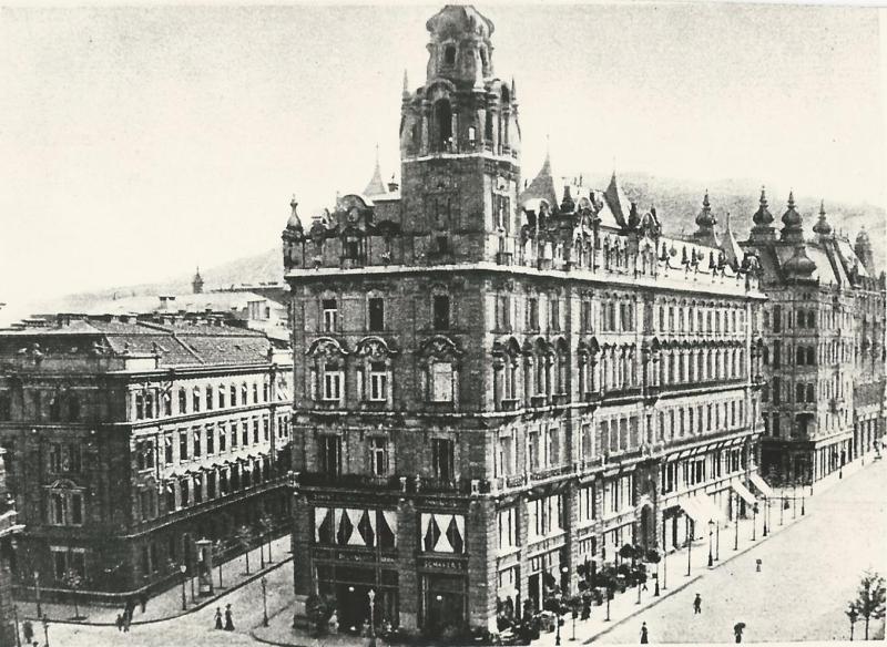 Belvárosi Kávéház, Budapest, 1905 - MKVM, CC BY-NC-ND