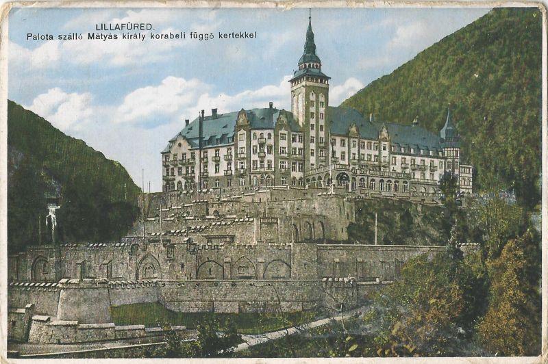 Palotaszálló - képeslap, Lillafüred, 1930 - MKVM, CC BY-NC-ND