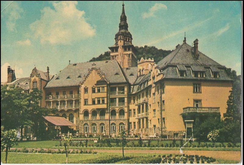 Lillafüredi Szálloda - képeslap, 1910-es évek - MKVM, CC BY-NC-ND
