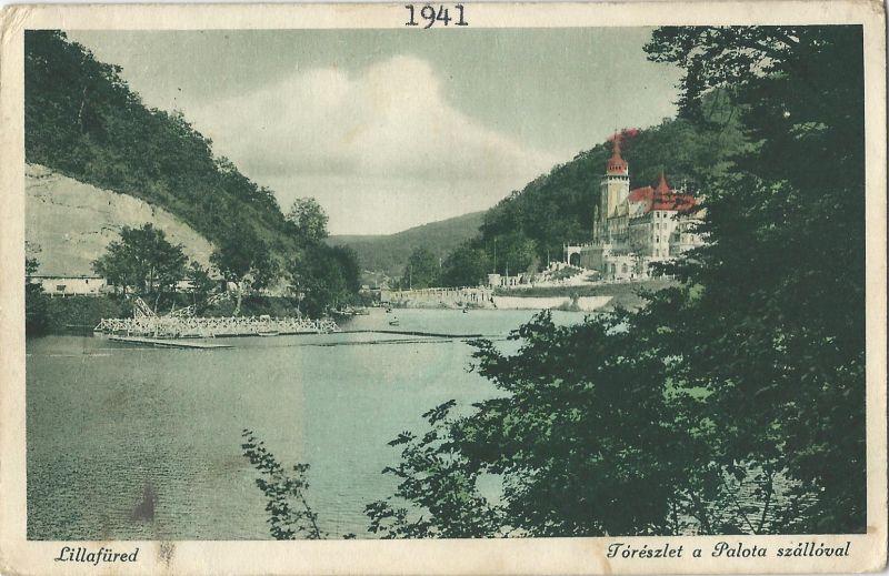 Palotaszálló - képeslap, Lillafüred, 1941 - MKVM, CC BY-NC-ND