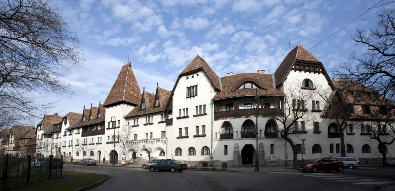 Lakóház a Wekerletelepen - Magyar Nemzeti Digitális Archívum és Filmintézet, CC BY-NC-ND