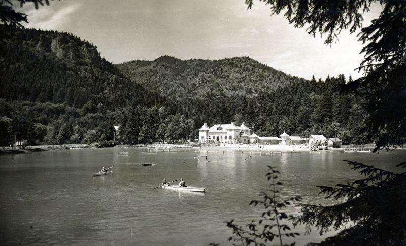 Tusnádfürdői Csukás-tó - Fortepan, CC BY-SA
