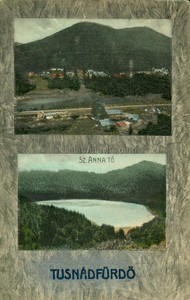 Tusnádfürdő. Szent Anna tó - Terleczky József, CC BY-NC-ND