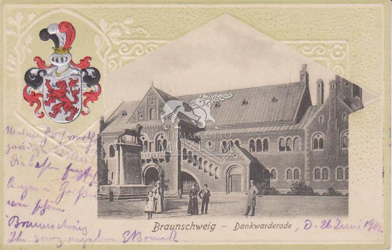 Braunschweig, Dankwarderode (1902) - Herman Ottó Múzeum, CC BY-NC-ND