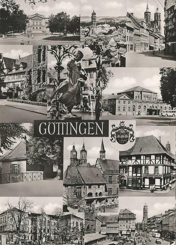 Göttingeni városkép (1959) - Magyar Kereskedelmi és Vendéglátóipari Múzeum, CC BY-NC-ND