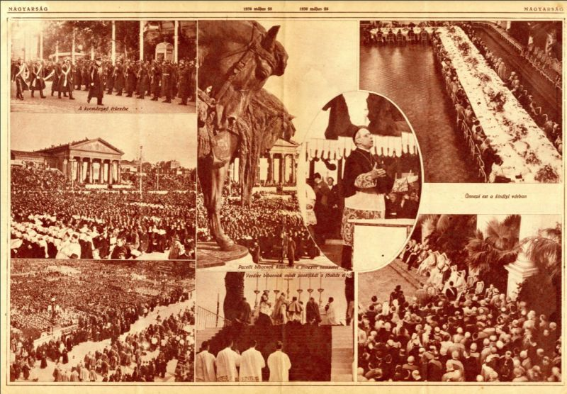 Az Eucharisztikus kongresszus ünnepélyes megnyitása - Ismeretlen (Kutatás alatt), PDM