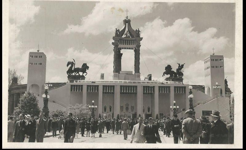 XXXIV. Nemzetközi Eucharisztikus Kongresszus, képeslap - Magyar Kereskedelmi és Vendéglátóipari Múzeum, CC BY-NC-ND